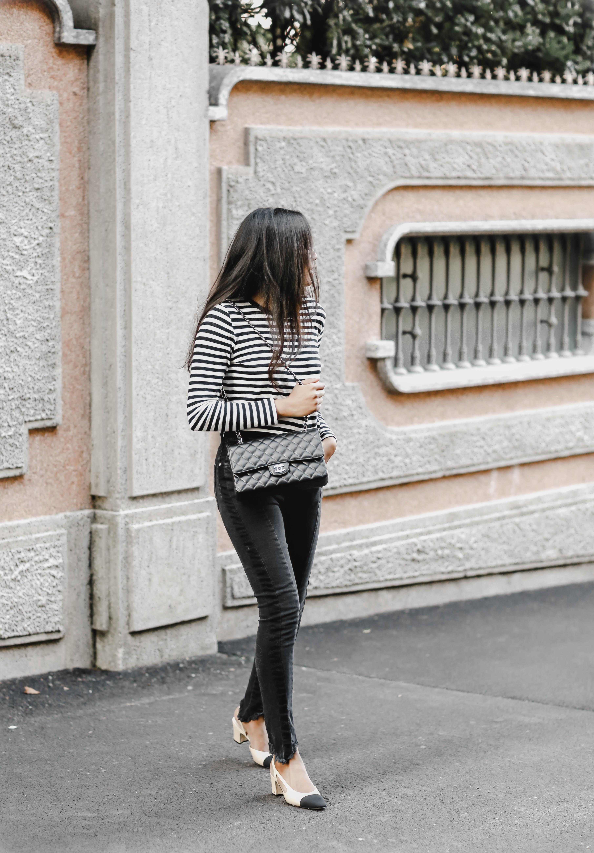 Black and white in Bellagio
