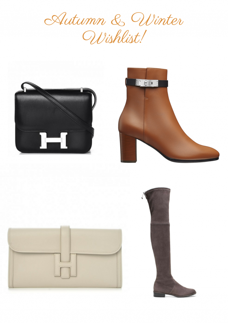 Autumn and winter wishlist