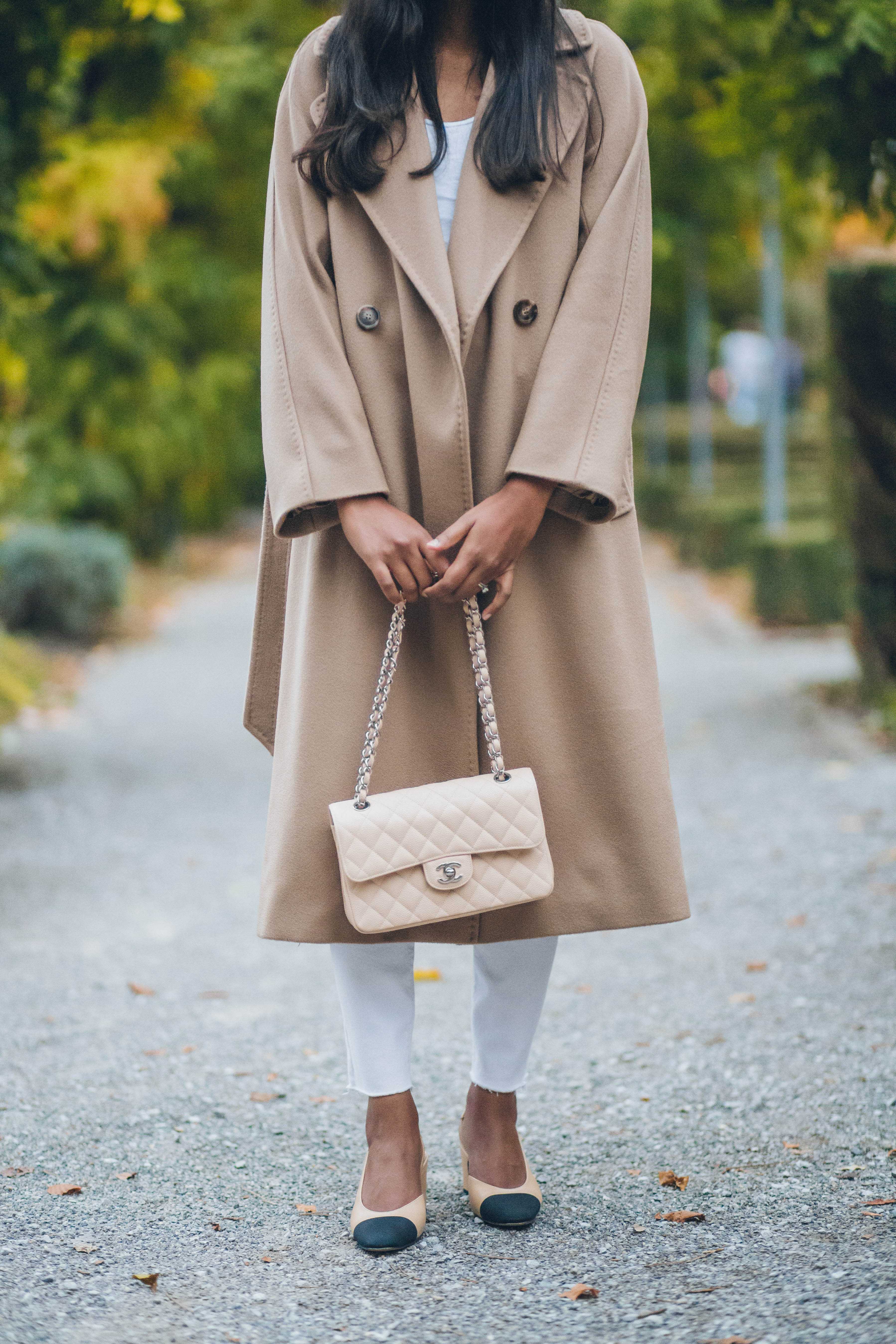 camel coat for autumn and winter