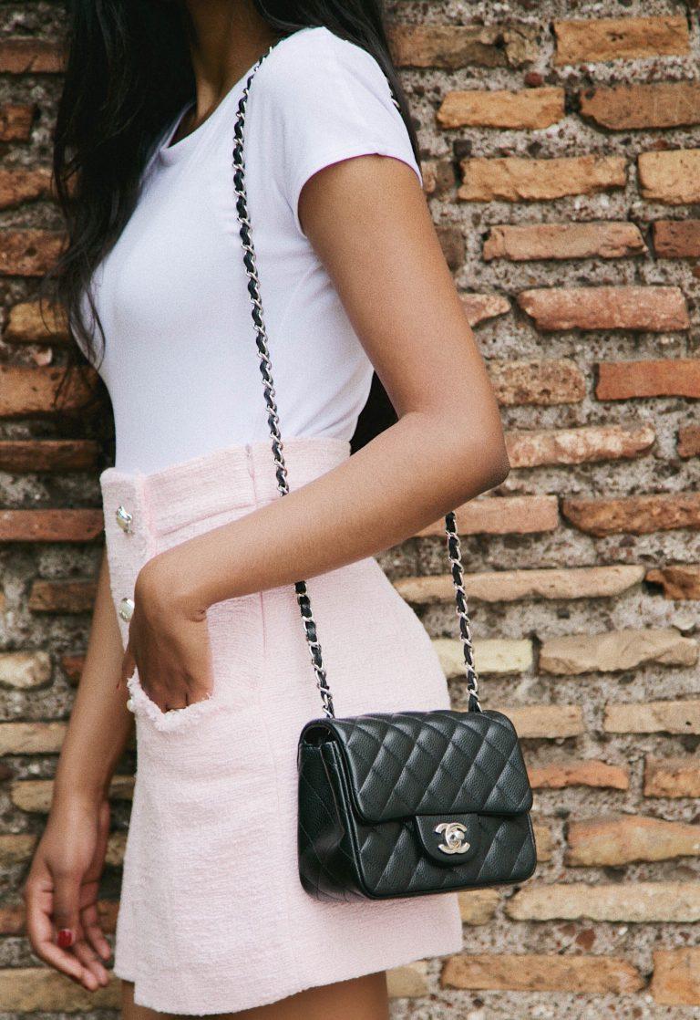 Chanel square mini review