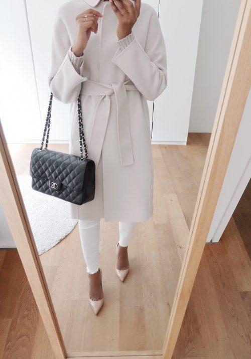 Elegant autumn outerwear