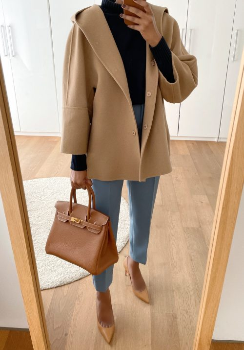 Zara high-waist trousers